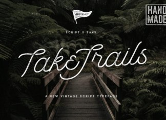 Take Trails Font