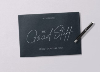 The Good Stuff  Font