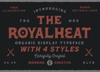 The Royalheat Font