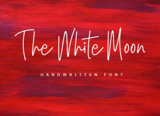 The White Moon Font