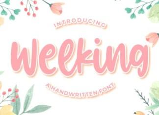 Welking  Font