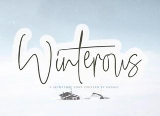 Winterous Font