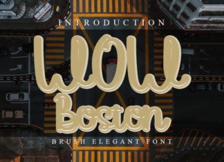 WoW Boston Font