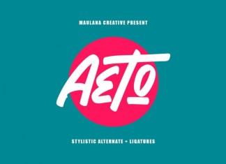 Aeto Font