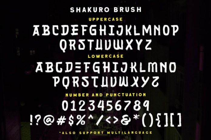 Sakhuro Font