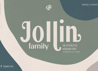 Jollin Family Font