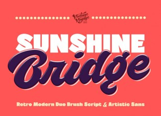 Sunshine Bridge Font