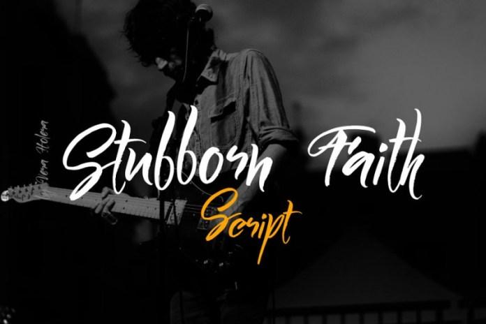 Stubborn Faith Font