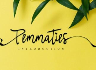 Pemmaties Font