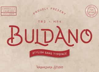 Buldano Font