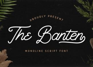 The Banten Font