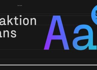 Fraktion Sans Font