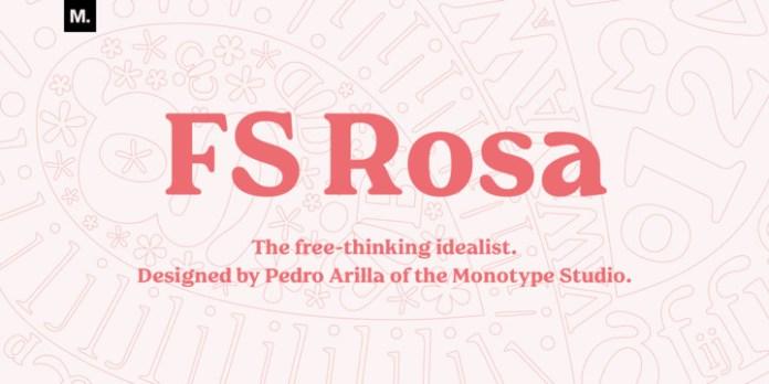 FS Rosa Font