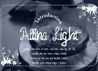 Allina Light Font