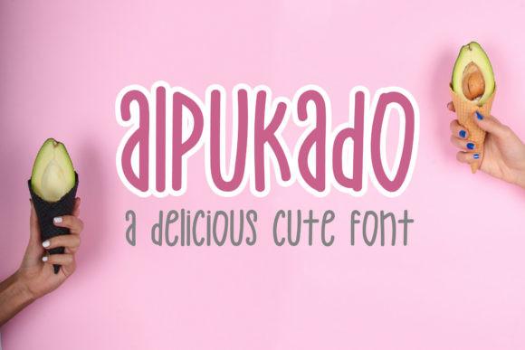 Alpukado Font