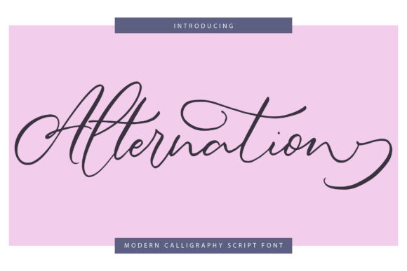 Alternation Font