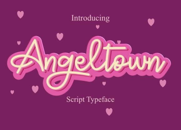 Angeltown Font