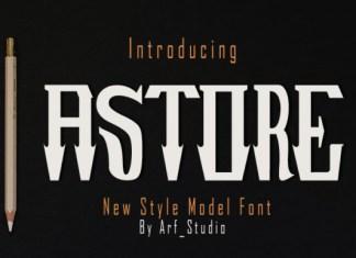 Astore Font