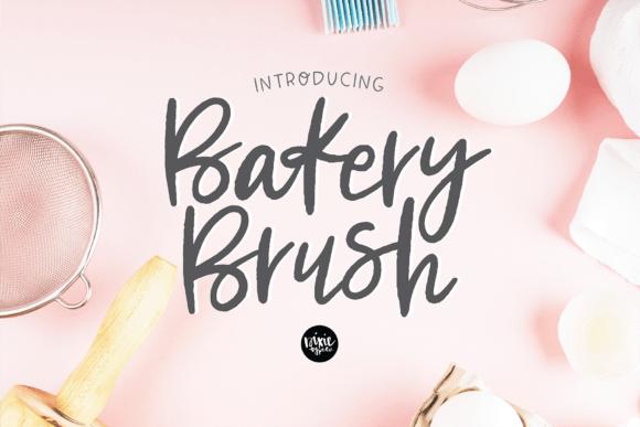 Bakery Brush Font