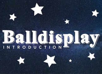 Balldisplay Font