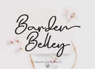 Barden Belley Font