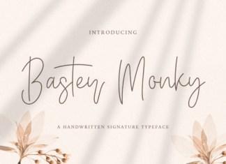 Baster Monky Font