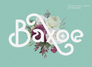 Baxoe Font