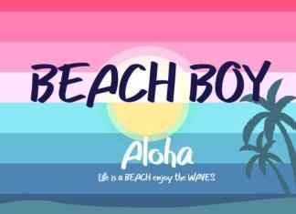 Beach Boy Font