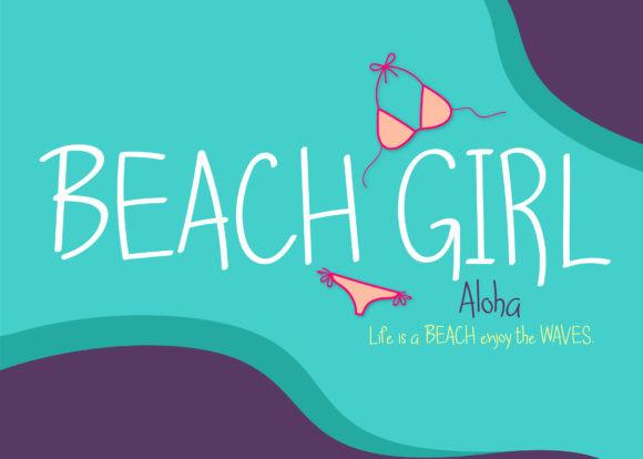 Beach Girl Font