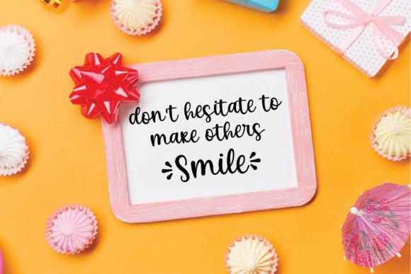 Beauty Smile Font