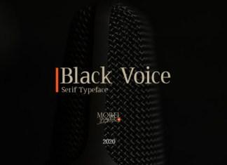 Black Voice Font