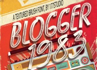 Blogger 1983 Font