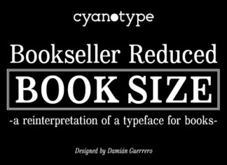 Bookseller Reduced Font