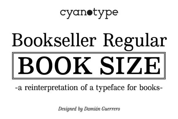 Bookseller Regular Font