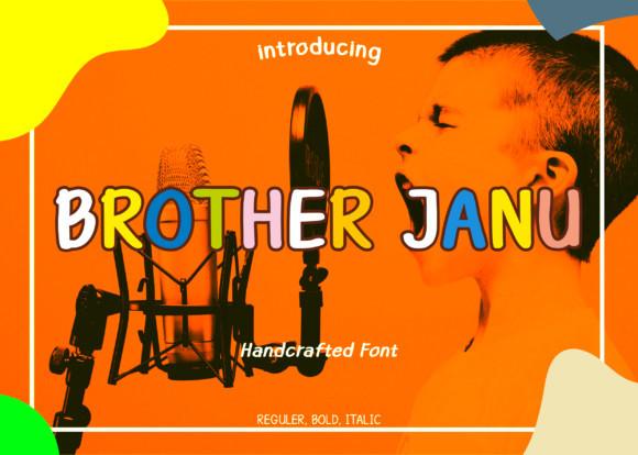 Brother Janu Font
