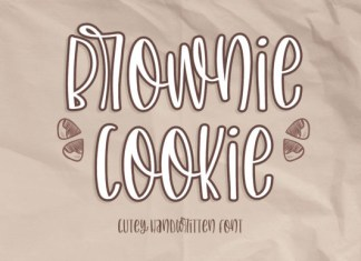 Brownie Cookie Font
