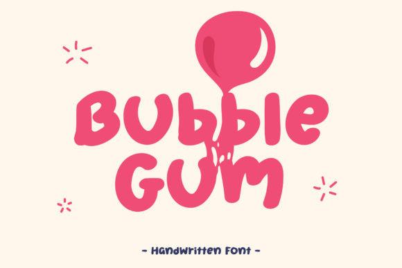 Bubble Gum Font