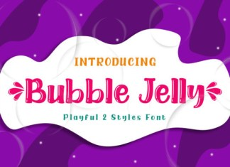 Bubble Jelly Font