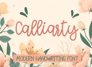 Calliarty Font