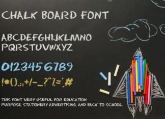 Chalk Board Font