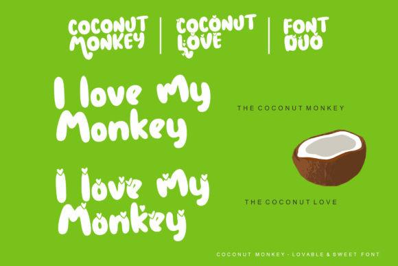 Coconut Monkey Font