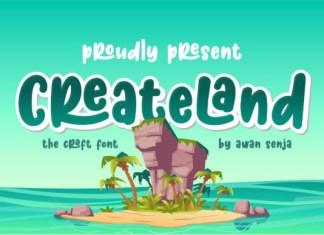 Createland Font
