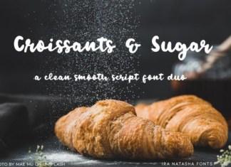 Croissants & Sugar Font