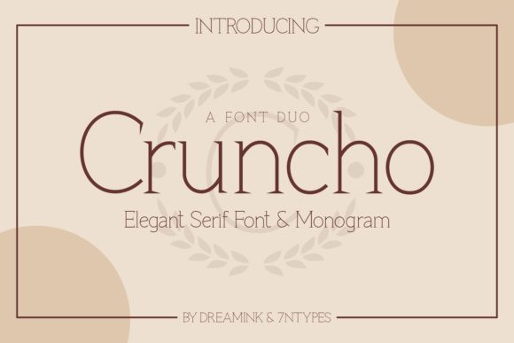 Cruncho Font