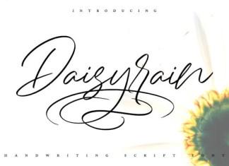Daisy Rain Font
