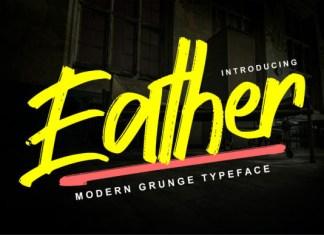 Eather Font