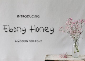 Ebony Honey Font