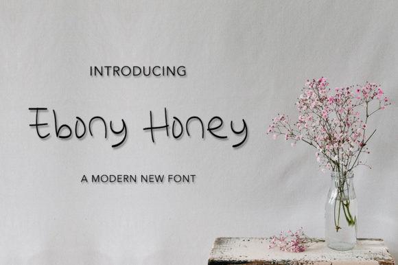 Ebony Honey Font
