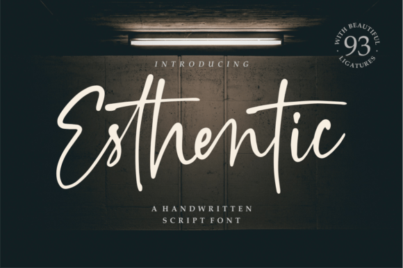 Esthentic Font