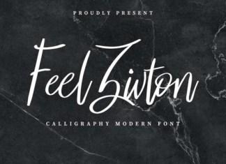 Feel Zivton Font